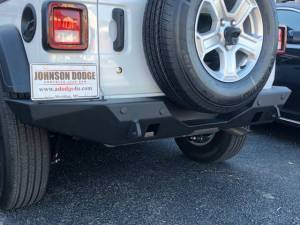 Shop Bumpers By Vehicle - Jeep Wrangler JL - Hammerhead Bumpers - Hammerhead 600-56-0747 Standard Rear Bumper Jeep Wrangler JL 2018-2020