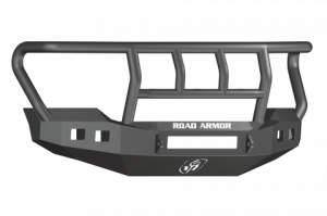 Clearance Bumpers - Road Armor - Road Armor 6114R2B-NW Stealth Front Non-Winch Bumper Titan II Guard Ford F250/F350 2011-2016 *Overstock*