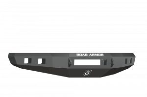 Clearance Bumpers - Road Armor - Road Armor 615R0B-NW Front Stealth Non-Winch Bumper with Square Light Holes F-150 2015-2017