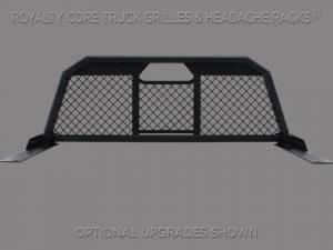 Royalty Core - Dodge Ram 2500/3500/4500 2010-2020 RC88 Billet Headache Rack with Diamond Mesh - Image 2