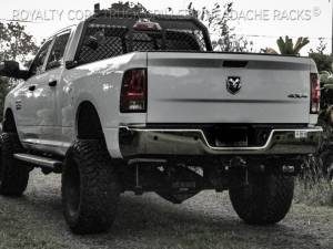 Royalty Core - Royalty Core 14058 Dodge Ram 2500/3500/4500 2010-2020 RC88 Billet Headache Rack with Diamond Mesh - Image 1