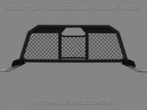 Royalty Core - Royalty Core 14243 Chevy/GMC 1500/2500/3500 2007.5-2018 RC88 Billet Headache Rack with Diamond Mesh - Image 2