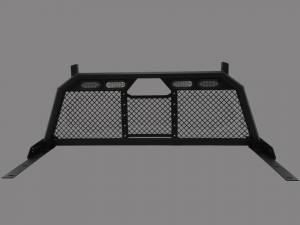 Royalty Core - Royalty Core 15325 Dodge Ram 1500 2002-2008 RC88 Ultra Billet Headache Rack w Integrated Taillights - Image 1