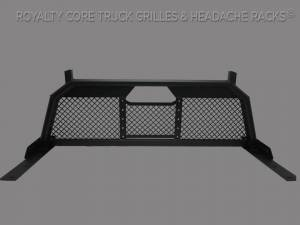 Royalty Core - Royalty Core 15311 Ford Superduty F-250 F-350 F-450 2017-2020 RC88 Headache Rack with Diamond Crimp Mesh - Image 1