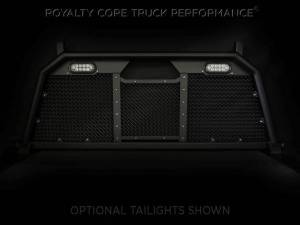 Royalty Core - Royalty Core 15311 Ford Superduty F-250 F-350 F-450 2017-2020 RC88 Headache Rack with Diamond Crimp Mesh - Image 2