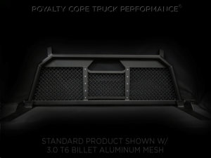 Royalty Core - Royalty Core 15311 Ford Superduty F-250 F-350 F-450 2017-2020 RC88 Headache Rack with Diamond Crimp Mesh - Image 6
