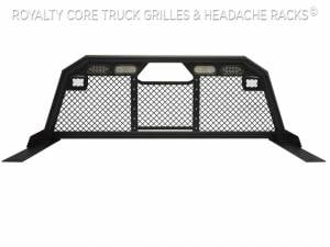 Royalty Core - Royalty Core 15842 Royalty Core 15842 Chevy/GMC 1500/2500/3500 2007.5-2019 RC88 Headache Rack w/ Integrated Taillights & Dura PODs - Image 2