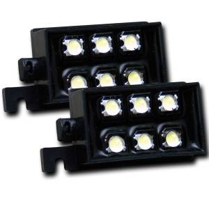 Exterior Lighting - Cargo Area Light - Anzo USA - Anzo USA 531049 LED Bed Rail Auxiliary Light