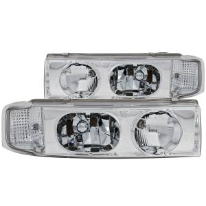 Anzo USA - Anzo USA 111001 Crystal Headlight Set - Image 1