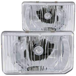 B Exterior Accessories - Lighting - Anzo USA - Anzo USA 111050 Crystal Headlight Set