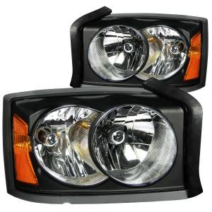 B Exterior Accessories - Lighting - Anzo USA - Anzo USA 111105 Crystal Headlight Set