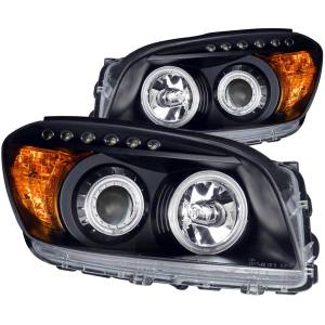 B Exterior Accessories - Lighting - Anzo USA - Anzo USA 111120 Projector Headlight Set w/Halo