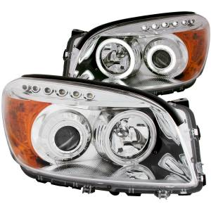 B Exterior Accessories - Lighting - Anzo USA - Anzo USA 111121 Projector Headlight Set w/Halo