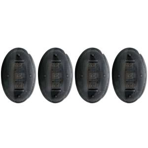 Exterior Lighting - Side Marker Light Assembly - Anzo USA - Anzo USA 861078 LED Dually Fender Lights