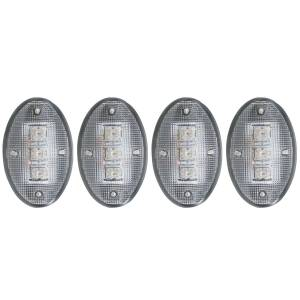 Exterior Lighting - Side Marker Light Assembly - Anzo USA - Anzo USA 861079 LED Dually Fender Lights