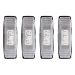Exterior Lighting - Side Marker Light Assembly - Anzo USA - Anzo USA 861090 LED Dually Fender Lights