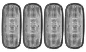 Exterior Lighting - Side Marker Light Assembly - Anzo USA - Anzo USA 861104 LED Dually Fender Lights