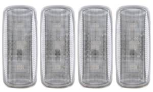 Exterior Lighting - Side Marker Light Assembly - Anzo USA - Anzo USA 861106 LED Dually Fender Lights