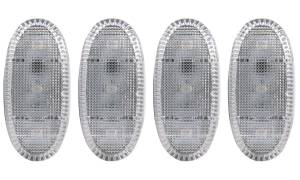 Exterior Lighting - Side Marker Light Assembly - Anzo USA - Anzo USA 861108 LED Dually Fender Lights