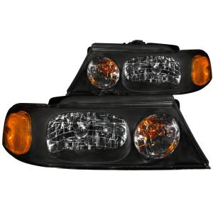 B Exterior Accessories - Lighting - Anzo USA - Anzo USA 111046 Crystal Headlight Set