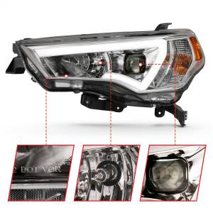 Anzo USA - Anzo USA 111417 Projector Headlight Set - Image 2