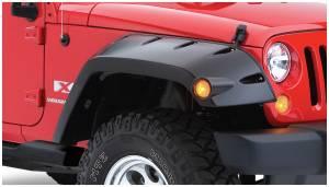 Exterior Accessories - Fender Flares - Bushwacker - Bushwacker 10045-02 Max Coverage Pocket Style Fender Flares