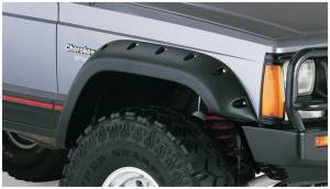 Fender Flare - Fender Flare - Bushwacker - Bushwacker 10035-07 Cut-Out Fender Flares