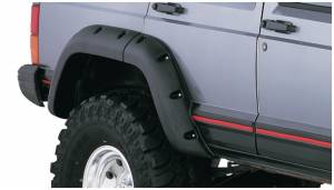Fender Flare - Fender Flare - Bushwacker - Bushwacker 10036-07 Cut-Out Fender Flares