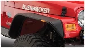 Exterior Accessories - Fender Flares - Bushwacker - Bushwacker 10055-07 Flat Style Fender Flares