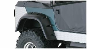 Fender Flare - Fender Flare - Bushwacker - Bushwacker 10060-07 Cut-Out Fender Flares