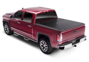 B Exterior Accessories - Tonneau Covers - BAK Industries - BAK Industries 1126227RB BAKFlip FiberMax Hard Folding Truck Bed Cover