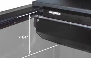Roll-N-Lock - Roll-N-Lock LG101M Roll-N-Lock M-Series Truck Bed Cover - Image 3