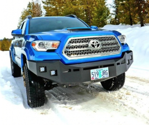 Truck Bumpers - Fusion - Toyota Tacoma