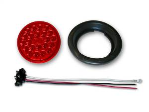 Exterior Lighting - Tail Light Assembly - Poison Spyder - Poison Spyder 41-04-050 24-LED Taillight Push-In