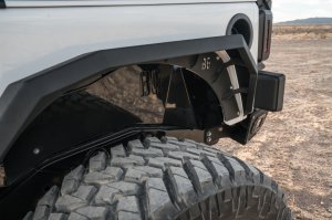 Jeep Bumpers - Bodyguard RX-Series - Bodyguard - Bodyguard 40898T Front and Rear Liners and Fender Flares Textured Black Jeep JK 2007-2018