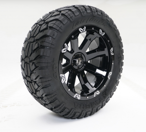 """Fab Fours - Fab Fours 24"""" x 12"""" Wheel and Tire Package with 40"""" Kymera Tires set of 4 - Image 1"""