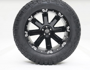 """Fab Fours - Fab Fours 24"""" x 12"""" Wheel and Tire Package with 40"""" Kymera Tires set of 4 - Image 2"""