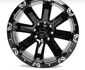 """Fab Fours - Fab Fours 24"""" x 12"""" Wheel and Tire Package with 40"""" Kymera Tires set of 4 - Image 3"""