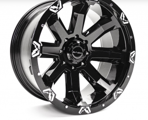 """Fab Fours - Fab Fours 24"""" x 12"""" Wheel and Tire Package with 40"""" Kymera Tires set of 4 - Image 4"""