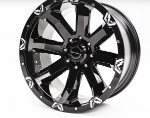 """Fab Fours - Fab Fours 24"""" x 12"""" Wheel and Tire Package with 40"""" Kymera Tires set of 4 - Image 6"""