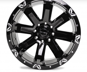 """Fab Fours - Fab Fours 24"""" x 12"""" Wheel and Tire Package with 40"""" Kymera Tires set of 4 - Image 8"""