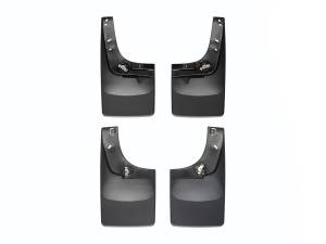 WeatherTech - WeatherTech 110012-120008 MudFlap No-Drill DigitalFit MudFlap Kit - Image 1