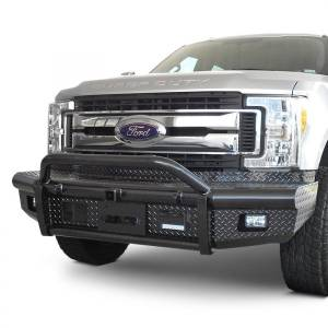 Truck Bumpers - Steelcraft - Steelcraft Pipe Bullnose Bumpers