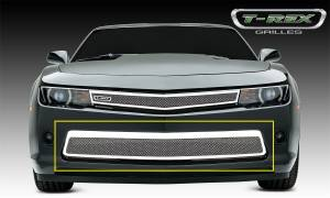 T-Rex Grilles - T-Rex Grilles 55032 Upper Class Series Mesh Bumper Grille Overlay - Image 2