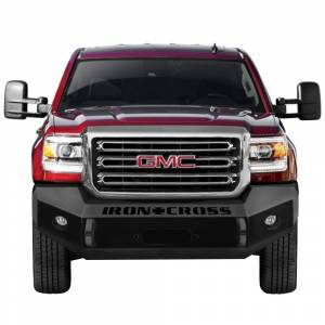 Iron Cross - Iron Cross 20-325-15 Base Winch Front Bumper for GMC Sierra 2500/3500 2015-2019 - Gloss Black - Image 2