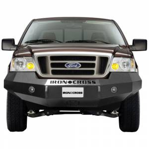 Iron Cross - Iron Cross 20-415-04-MB Base Winch Front Bumper for Ford F150 2004-2008 - Matte Black - Image 2