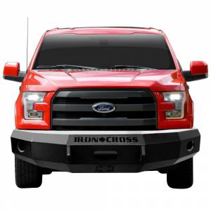 Iron Cross - Iron Cross 20-415-15-MB Base Winch Front Bumper for Ford F150 2015-2017 - Matte Black - Image 2
