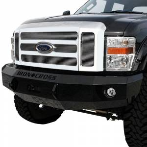 Iron Cross - Iron Cross 20-425-08-MB Base Winch Front Bumper for Ford F250/F350/F450 2008-2010 - Matte Black - Image 2