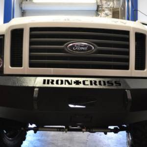 Iron Cross - Iron Cross 20-425-08-MB Base Winch Front Bumper for Ford F250/F350/F450 2008-2010 - Matte Black - Image 5