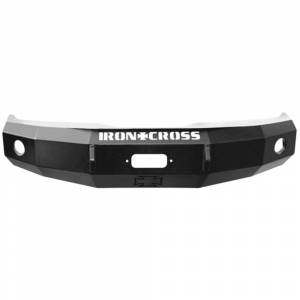 Shop Bumpers By Vehicle - Ford F450/F550 Super Duty - Iron Cross - Iron Cross 20-425-11 Base Winch Front Bumper for Ford F250/F350/F450 2011-2016 - Gloss Black